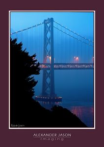 Quiet Beauty -- San Francisco Bay Bridge