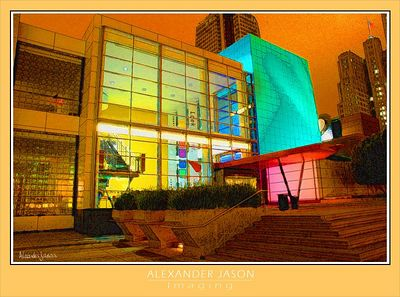 Night Color of Yerba Buena
