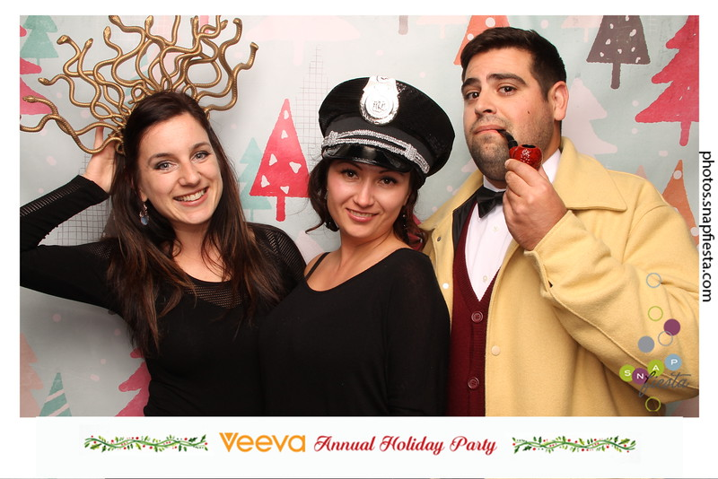 Veeva Annual Holiday Party 12.16.16 - Station 1