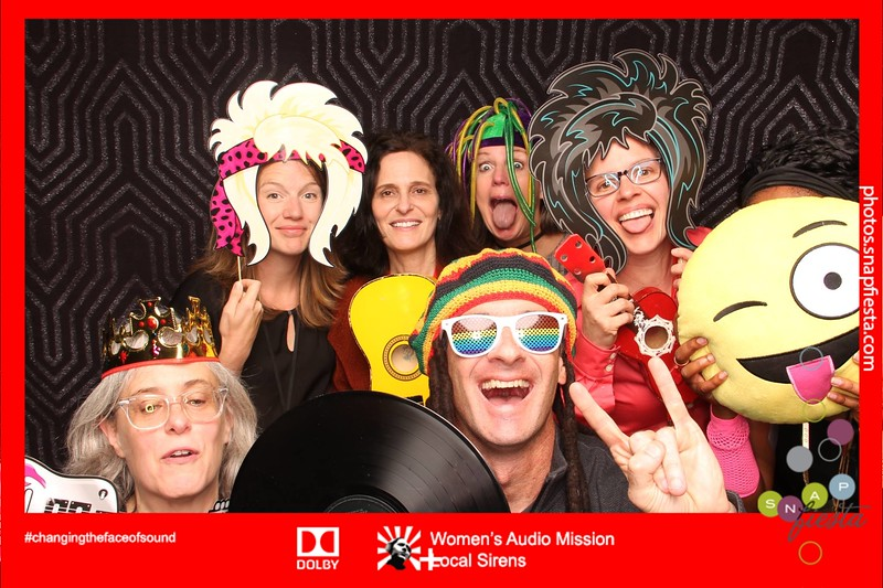 Women's Audio Mission: Local Sirens at Dolby 9.23.16
