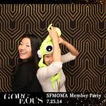 SFMOMA Gorgeous Member Party 7.25.14