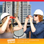 SFMOMA Topping Out Celebration 9.10.14