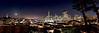November Moon City Scape 45x15