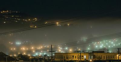 Fog Rolls Into My Neighborhood