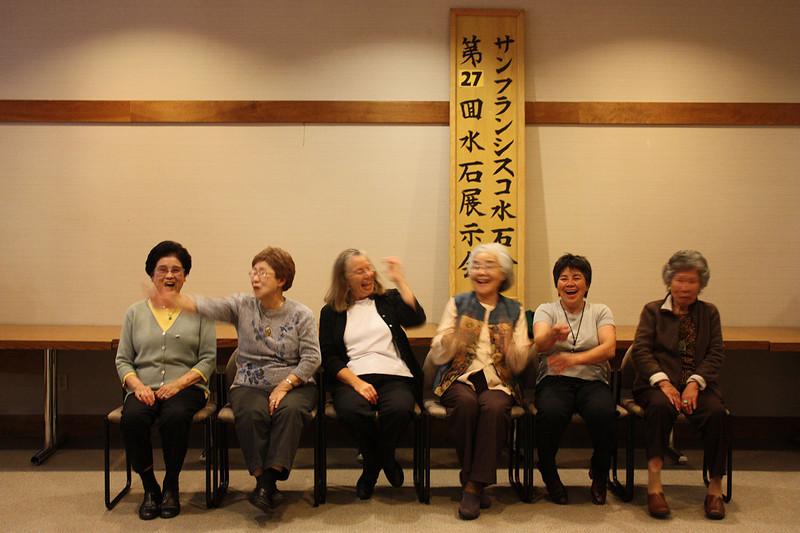 Gathering the ladies