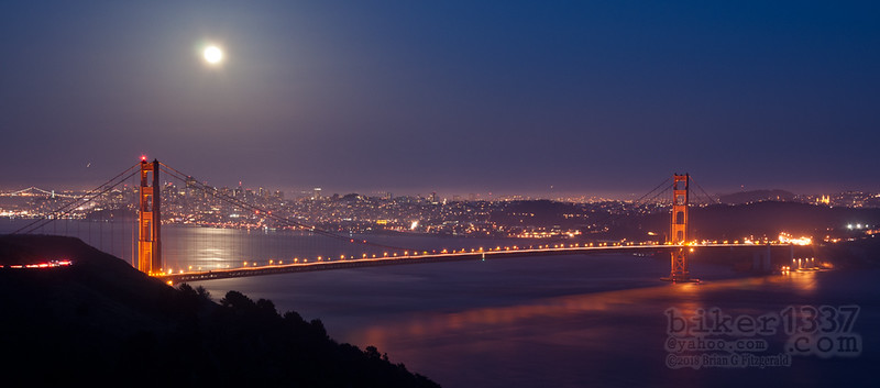 Full Moon Panoramic