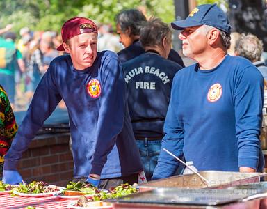 MBVFD – Preparing the BBQ