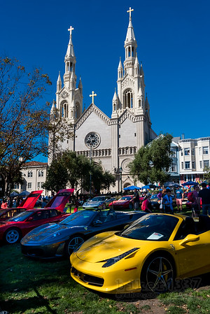 Ferraris at St Peters and Paul