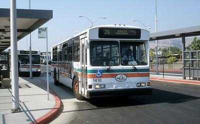 AC Transit 1418 Fremont BART Sep 99