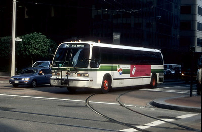 Golden Gate Transit 1186 Fremont St SF Sep 99
