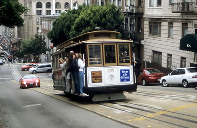 Muni 15 Powell St SF 1 Sep 99
