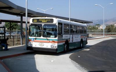 AC Transit 2407 Fremont BART Sep 99