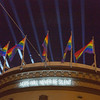 Harvey's Halo - light sculpture by Illuminate for the 40th Anniversary of Supervisor Harvey Milk's election on Nov. 7, 1977