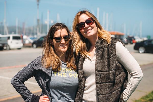 San Francisco with Rachel and Blair