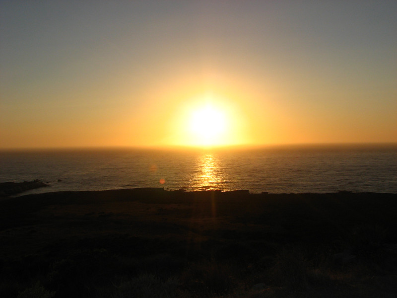 sunset at montano de oro campground