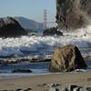 Mile Rock Beach, Golden Gate Bridge
