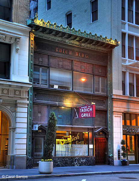 Tadich Grill, located in the heart of the Financial District, is the oldest restaurant in San Francisco. Tadich Grill was established in 1849.