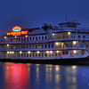 "Known as the ""Crown jewel of San Francisco"" this boat holds its share of wedding and private parties."