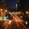 Howard Street in San Francisco. Urban activity.