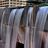 Martin Luther King, Jr. Memorial waterfalls.
