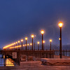 Ebarcadero Pier, very early morning