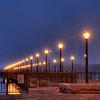 Ebarcadero Pier, very early morning