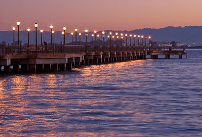 Pier 7 just before sunrise