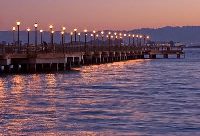 Pier 7 just before sunrise