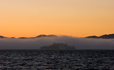 Alcatraz in the Fog