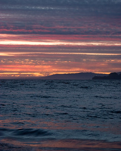 Sunset over Point Bonita