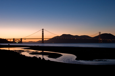 Sunset at Crissy Field