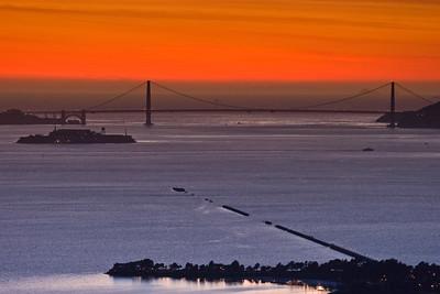 The Golden Gate from Berkeley