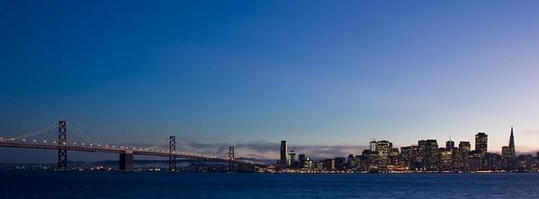 Bay Bridge and the City