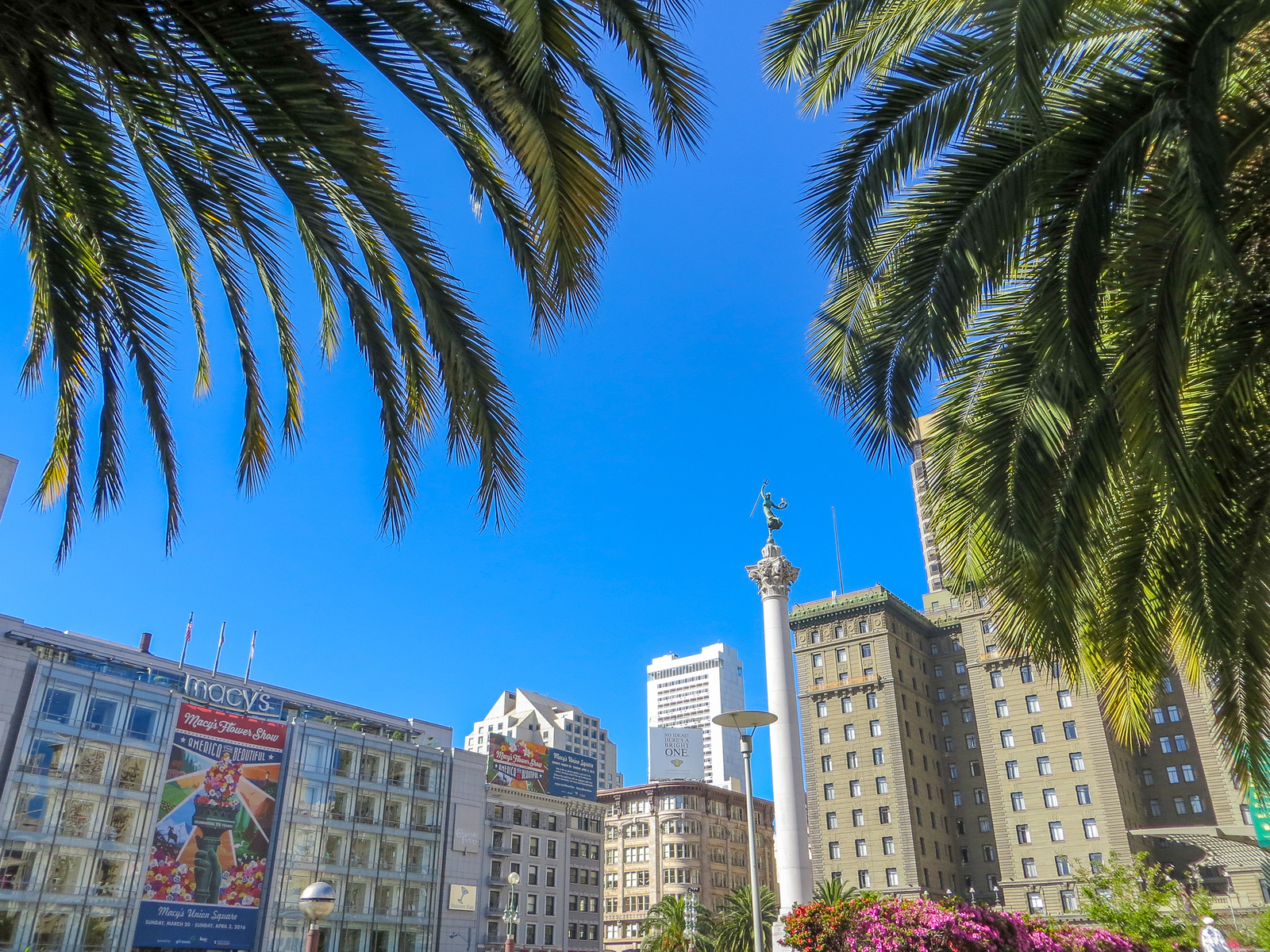 with two days in san francisco go shopping in union square