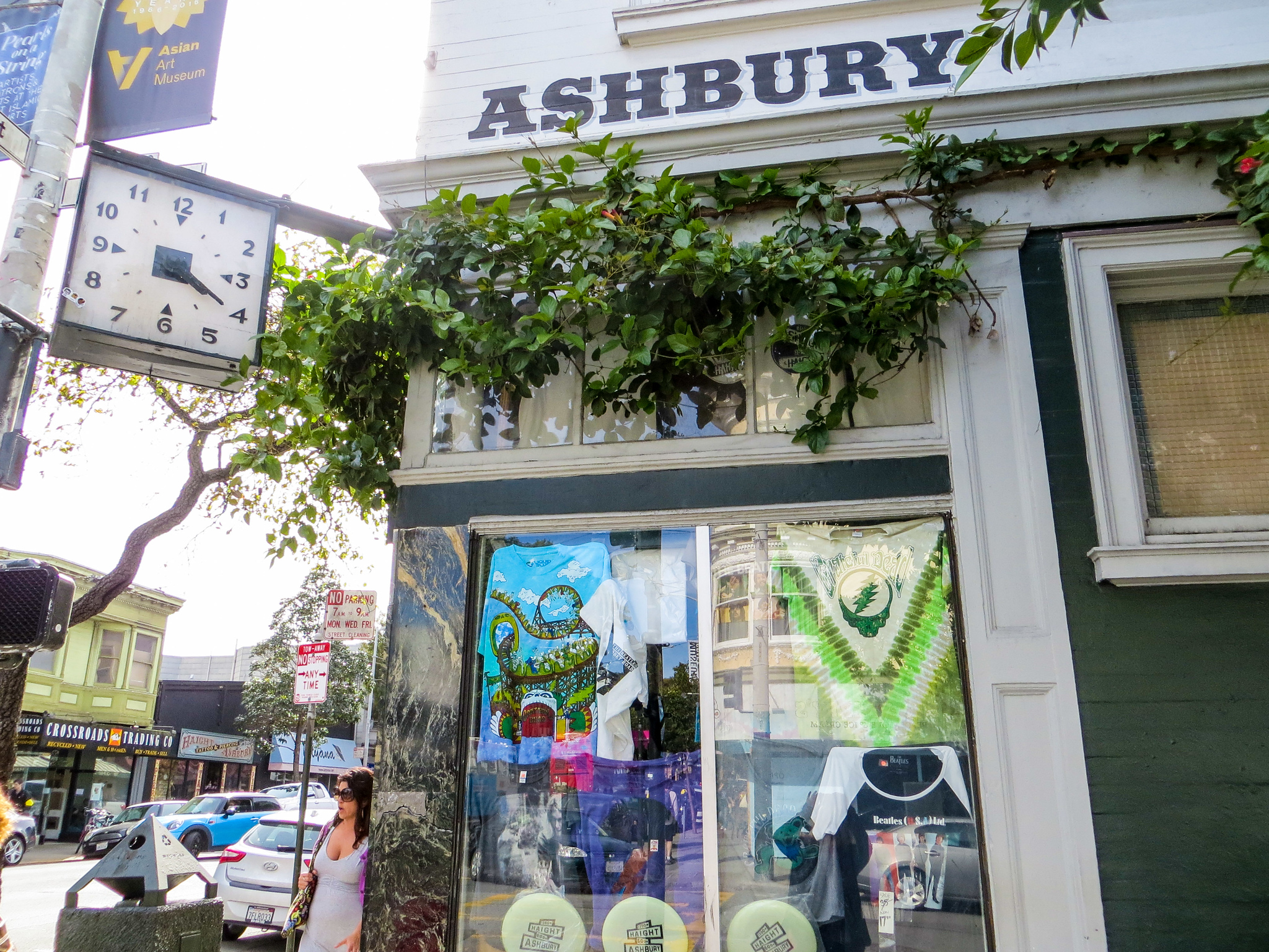 san francisco 2 days: go to ashbury for shopping and eating dinner