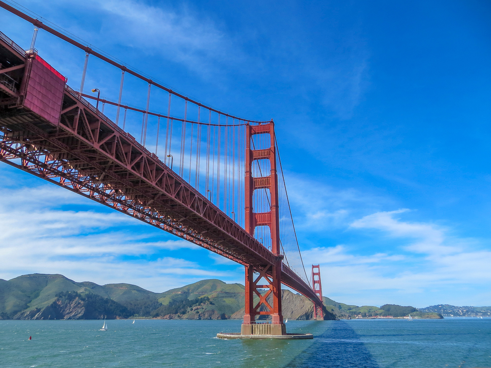 bring good shoes for your san francisco packing list so you can walk across the golden gate bridge