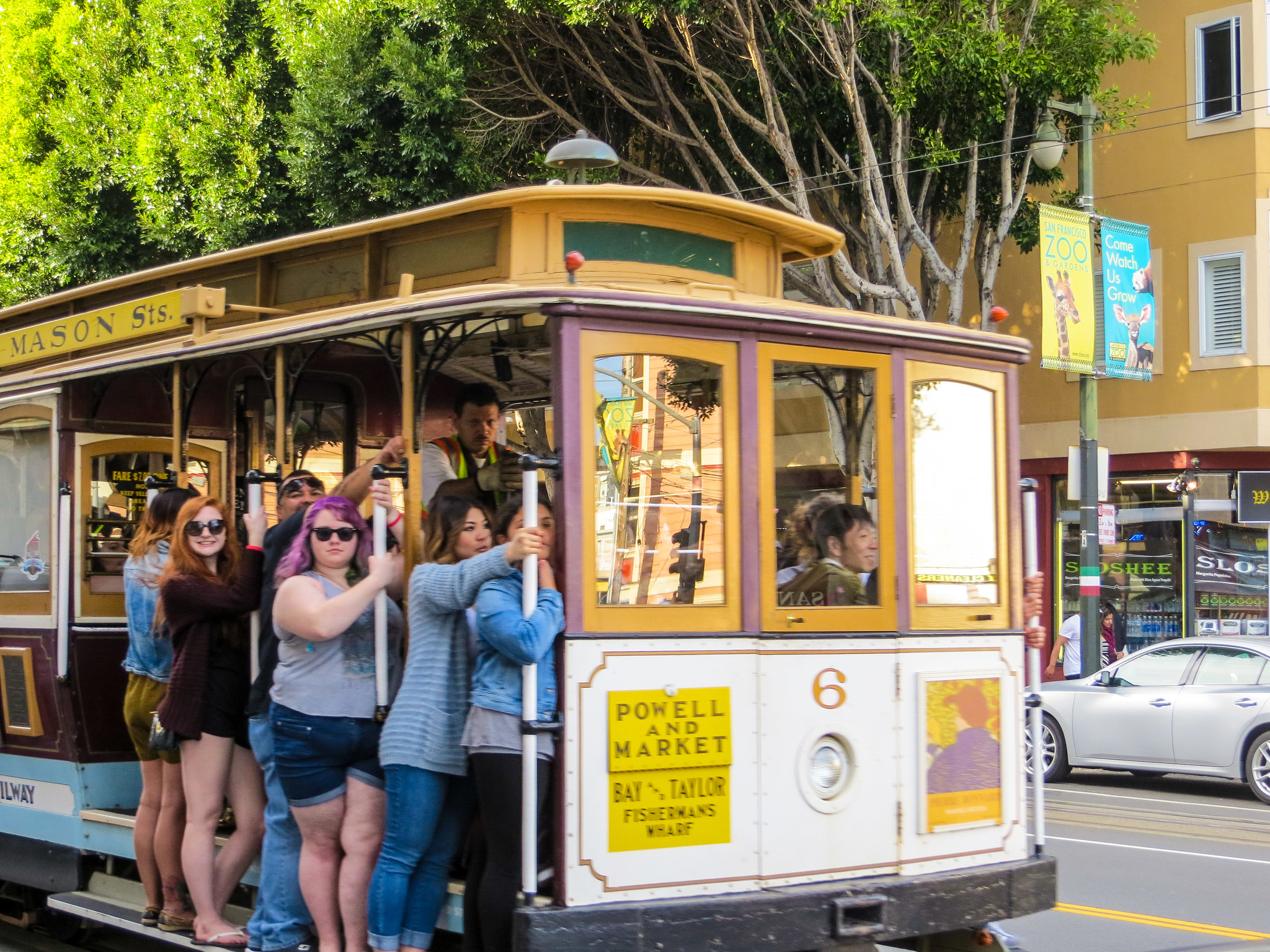 ride a cable car on a weekend getaway in san francisco