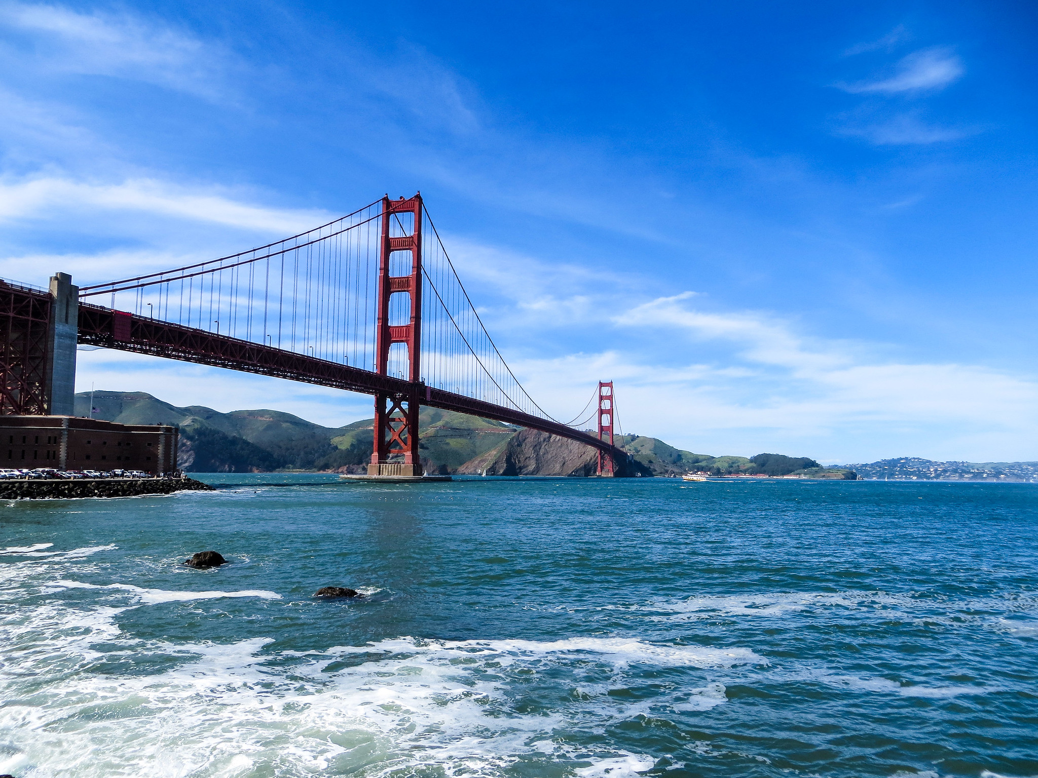 san francisco 2 days trip must include the golden gate bridge