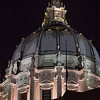 San Francisco City Hall Dome at Night