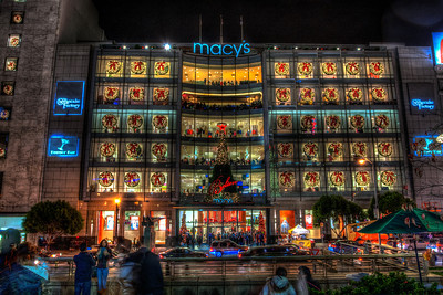 San Francisco Macy's Christmas