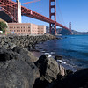Golden Gate Bridge and Ft. Point, San Francisco