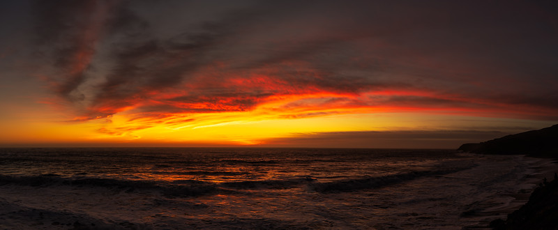 Rodeo Cove Sunset