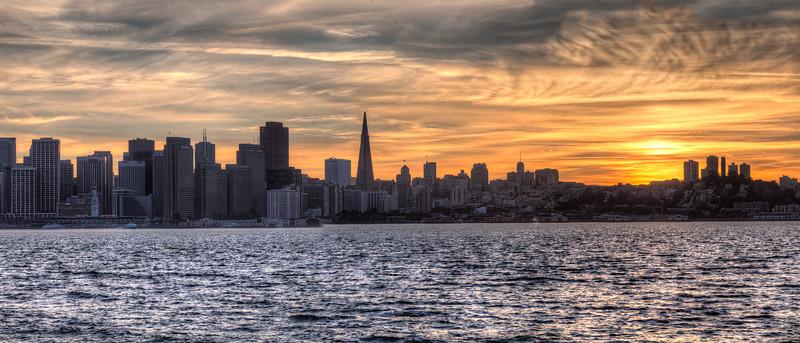 San Francisco from Treasure Island