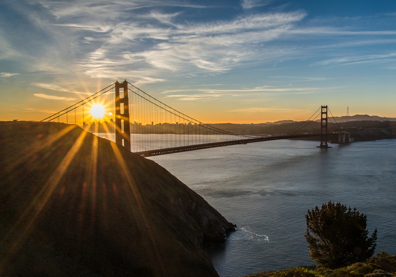 A Golden Sunrise