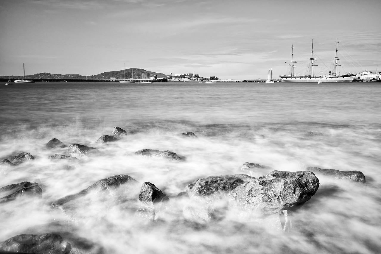 Alcatraz in the Distance