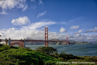 Golden Gate Bridge - Late Afternoon