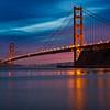 Golden Gate Bridge Sunset 4635-2