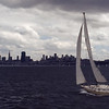 Sailboat & City '82