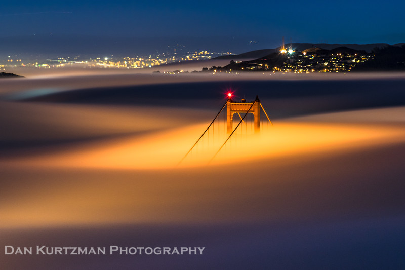 Molten Fog at the Golden Gate