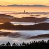 Magic Morning Above the Fog